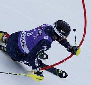 Slalomisti a Saas Fee