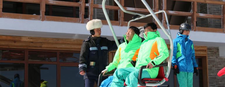 Corea  del  Nord  lo sci oltre la dittatura