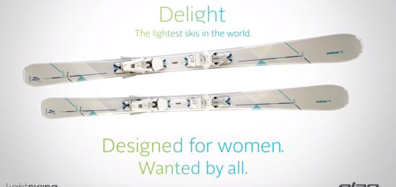 Elan presenta il nuovo sci Delight e la tecnologia Slim Shape per la stagione 2016/2017