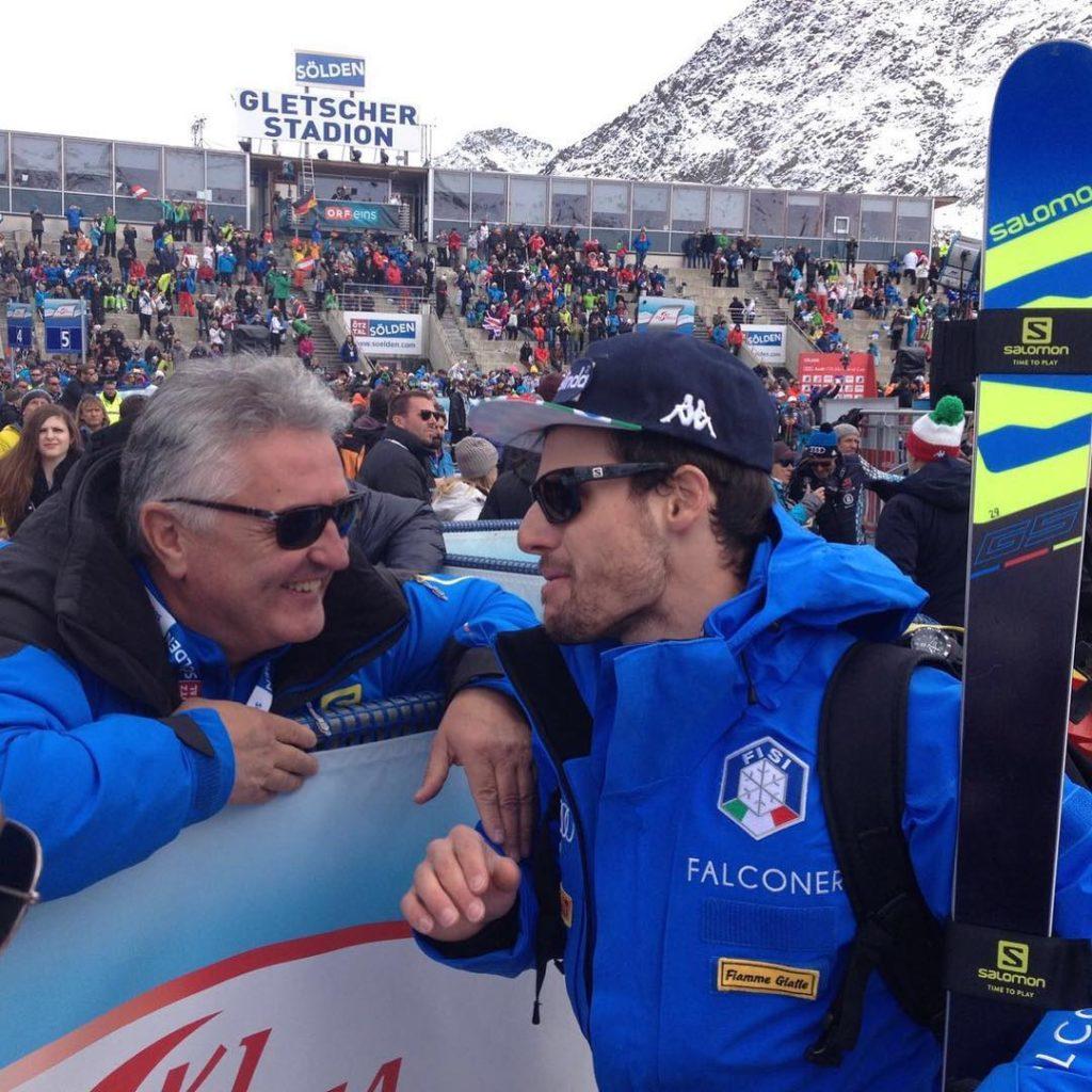 Luca De Aliprandini decimo classificato Durante la prima manche nonhellip