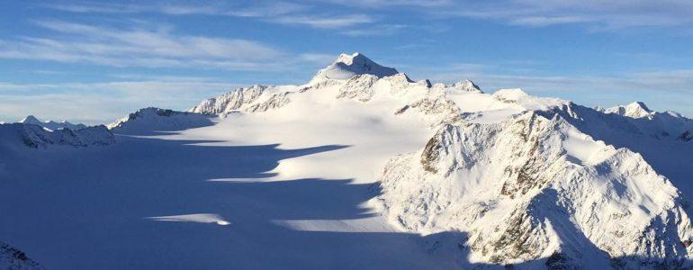 Da sabato si scia a Soelden