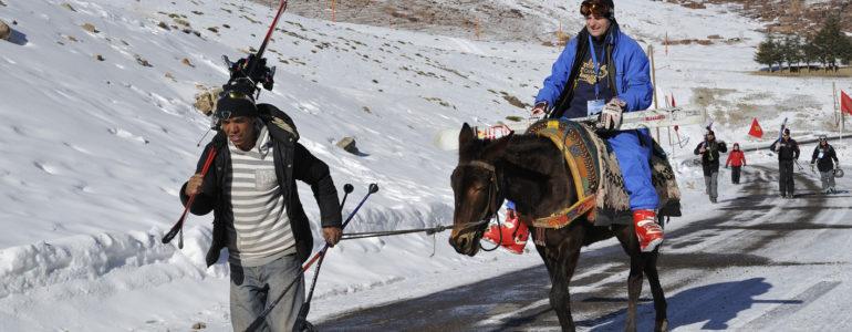 Lo sapevate che vicino a Marrakech si scia?