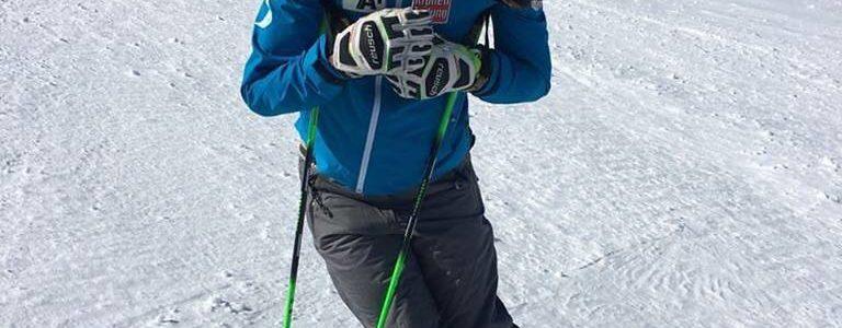 Anna Veith di nuovo sugli sci