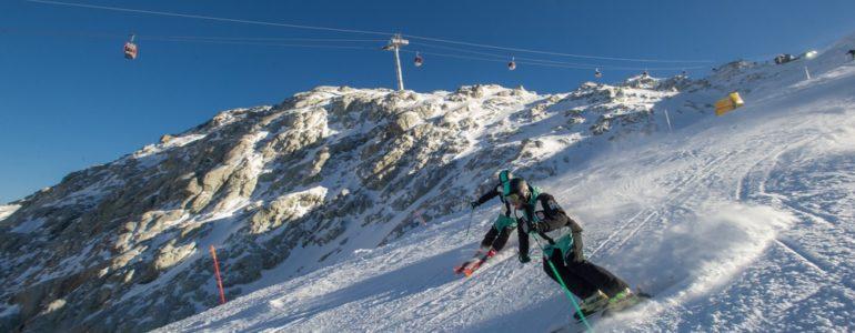 Presentazione a 2753m per la stagione della Val di Sole