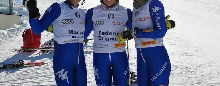 Federica Brignone in pista a Killington