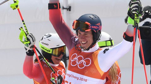 Svizzera oro olimpico nel Team Event
