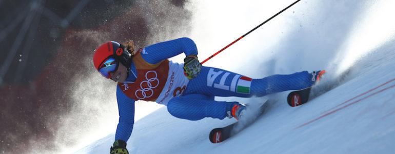 Brignone bronzo olimpico in gigante
