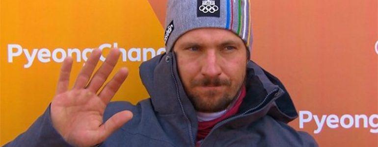 Hirscher fuori nello slalom olimpico!