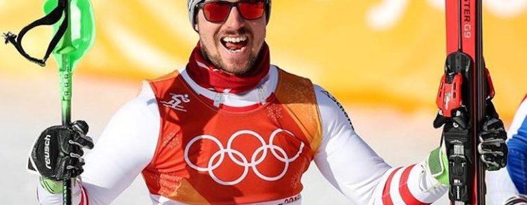 Hirscher nell'Olimpo: vince l'oro in combinata