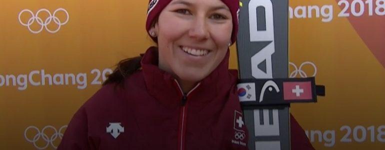 Holdener in testa alla prima manche dello slalom olimpico