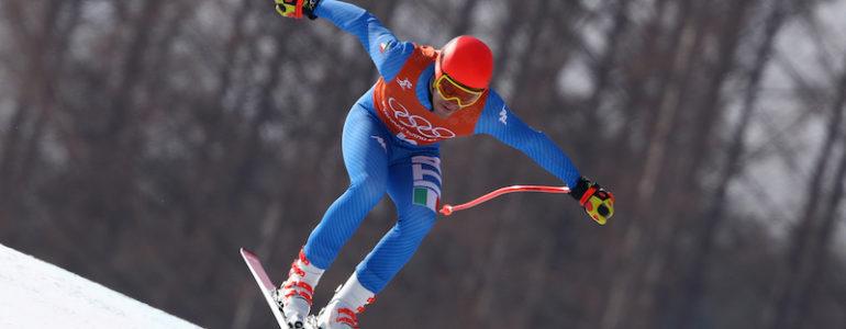 Tre azzurri nei dieci nella discesa della combinata olimpica