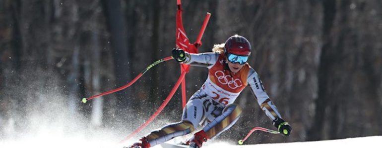 Ester Ledecka incredibile oro olimpico in superG