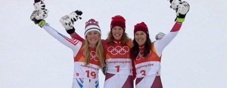 Michelle Gisin oro olimpico in combinata