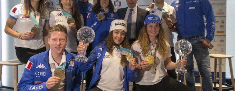 La FISI festeggia i suoi atleti in un Media Day a Milano